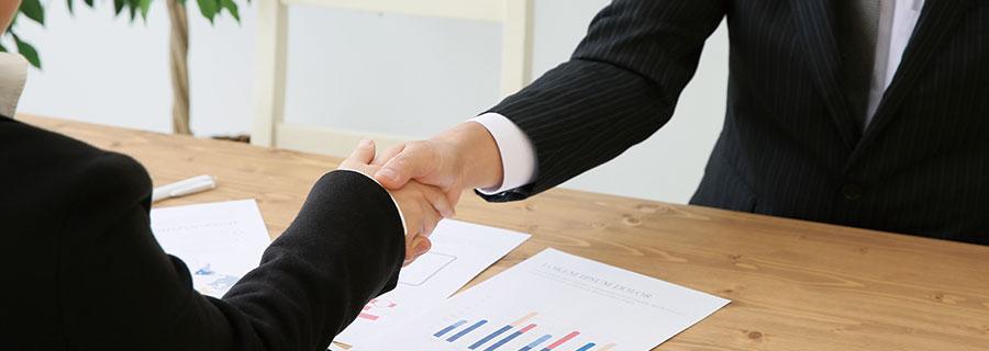 交渉成立のイメージ